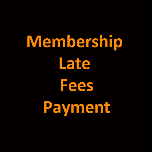 Membership Late Fees